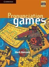 Cambridge: Pronunciation Games by Mark Hancock (1995, Spiral). BRAND NEW