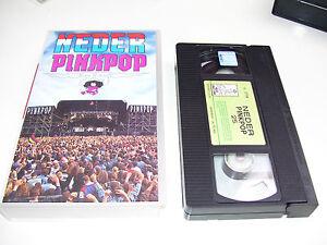 Neder Pinkpop 25 Jaar Nederpop * RARE VHS VIDEO 1994 *