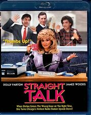 USED BLU-RAY // STRAIGHT TALK // Dolly Parton, James Woods, Griffin Dunne, Jerry