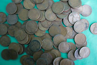 1920 thru 1929 100 Coin Lot Copper One Cent Penny Assortment 1920-1929 1c Wheat