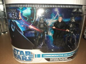 Star Wars The Force Unleashed Commemorative Palpatine With Shadow Stormtroopers