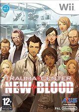 Trauma Center New Blood [UK Import] Nintendo Wii IT IMPORT NINTENDO