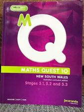 Maths Quest 10 for NSW 5.1/5.2/5.3 Pathway Australian Curriculum Edition & eBook