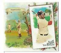 2019 Allen & Ginter Baseball Box Loader N43 Parallel JD Martinez Boston Red Sox