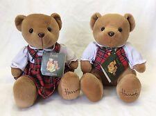 Pair Harrod's Teddy Bears
