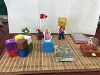 Super Mario Complete Set Happy Meal McDonald's 2018 Unopened..Hard To Find, Rare