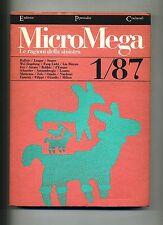 MICROMEGA 1/87-LE RAGIONI DELLA SINISTRA#Periodici Culturali Gennaio-Marzo 1987