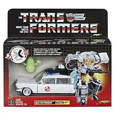 Transformers Ghostbusters Sdcc Exclusive Ecto-1 Ectotron Stickers In Hand