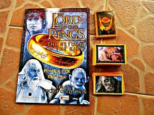 THE LORD OF THE RINGS - EMPTY ALBUM AND FULL SET OF STICKERS
