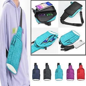 Small Crossbody Bag Sports Shoulder Strap Sling Chest Pack Men Phone Case Wallet