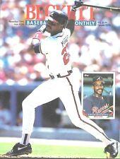 Beckett Baseball Card Monthly Magazine November 1993 #104 Fred McGriff Braves