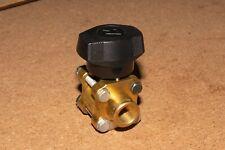 """Whitey 1/4"""" ball valve B62TF4, brass, 2000 PSI WOG, 6-month warranty"""