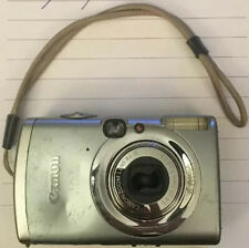 As Is   Pre-owned Canon IXY 800IS 6.0 Mega Pixel Digital Camera & Battery