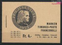 Schweiz MH38a (kompl.Ausg.) postfrisch 1953 Juventute (9045979