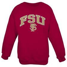Florida State Seminoles NCAA Embroidered Crew Men's Sweatshirt - Red