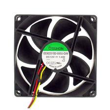 Sunon EE92251B2-000U-G99 92mm x 25mm 12v Cooling Fan 3 pin 3 wire