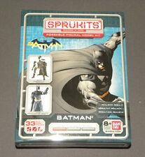 Bandai Sprukits  DC Comics New 52 Batman Action Figure Model Kit, Level 1 33pcs