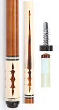 Jacoby MAG Series Custom Cue 1117-78 13mm Shaft - Brown - FREE Joint Protectors