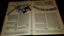 Barbra Streisand Funny Girl Rare 1969 London Critics Promo Poster Ad Framed!