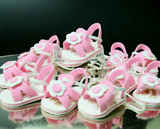 12 Girl Baby Shower Pink Party Favors Decorations Foam Shoe Sandles Prize Gifts