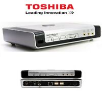 HUB Toshiba Multimedia Center amplificateur home cinéma PC SWITCH HUB ETHERNET