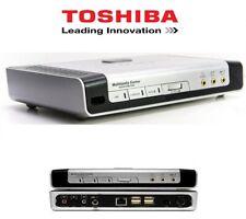 HUB Toshiba Multimedia Center amplificateur home cinéma PC SWITCH HUB ETHERNET