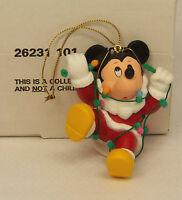 Groiler Disney MICKEY MOUSE with Lights Christmas Magic Ornament 101 MINT in BOX
