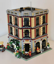 Modular Wine and Flower Shop MOC aus LEGO (passt zu 10197 10211 10224 10218)