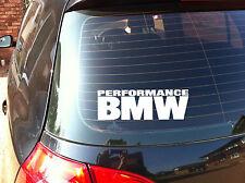 PERFORMANCE BMW Car Decal Sticker Series 1,2,3,4,5, M3 M5E38 E39 E46 E90 (A.2)