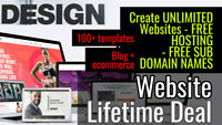Create and Host an UNLIMITED Number of Fully Ready-To-Go Websites