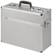Pilot Case Bag Briefcase  Aluminium  silver Executive Travel Work Flight   NEW