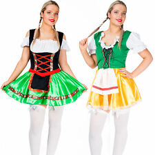 Womens Oktoberfest Costume German Bavarian Beer Wench Girl Maid Sexy Fancy Dress