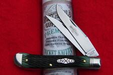 Great Eastern Northfield #48 Improved Trapper Knife - 488217 Sweet Pickle Green