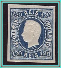 PORTUGAL 1866 KING LUIZ (REPRINT ?) SC#24 MLH OG  CV$325.00