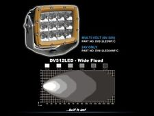Ultra Vision Enforcer LED Work/Area Lamp (Option A+C Brackets) - 60W, 9-32VDC