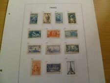 France 1939 to 1940 4 pages £150+ catalogue value - Ref VW8