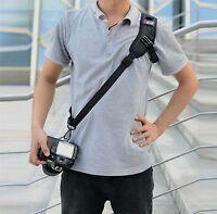 Profi Kamera Tragegurt Schultergurt Sling Neck Gurt für Nikon Canon SLR DSLR