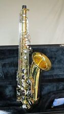 Chateau Tenor Saxophone Lacquer Finish & Nickel key CTS-22LNK (VCH-233LNK)