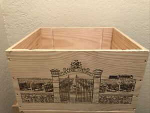 Wine Box Case Wooden Crate 6/750ml Domaine Faiveley