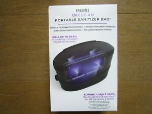 NEW HoMedics UV-Clean Portable Sanitizer Bag KILLS Up To 99% Germs Bacteria NIB