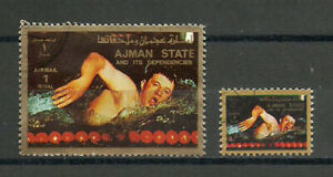 Arab Emirates Sport Olympic Games Mark Spitz USA Diving Butterfly Swimming