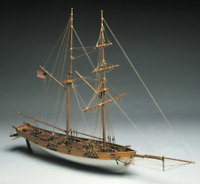 Manuta Models Albatros US Coastguard Cutter Wooden Ship Kit 1:40 Scale