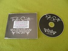 Taylor Swift Love Story The Remixes 6xTrks SUPER RARE Israel Promo SWLOVECDX1 !!