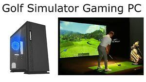 Golf Simulator Gaming PC, Core i5-3470, 16Gb, Nvidia GTX 1070, 256 SSD, Win 10