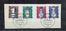 """Briefausschnitt mit Wohlfahrt 72 """" Schachfiguren """" Sst. Hannover Messe 1973"""