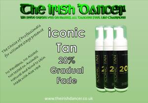 Iconic Tan 20% Gradual Fade  Fake Tan Mousse - 200ml