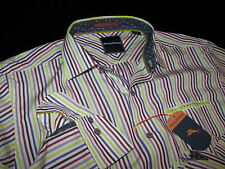 Tommy Bahama Shirt Lanai of the Tiger Cape Cod New LS New Large L T311667