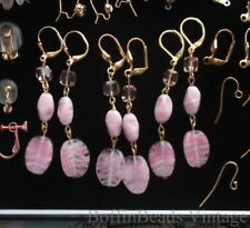 Gold Plated Earring Vintage Costume Jewellery (1950s)