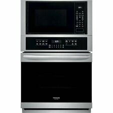 Frigidaire Gallery 27-in  Convection European Element Microwave Wall Oven Combo