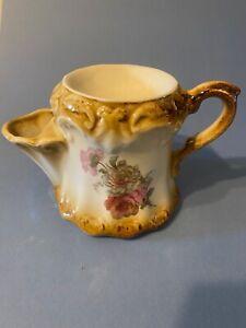Vintage Shaving Mug Pink Cabbage Roses